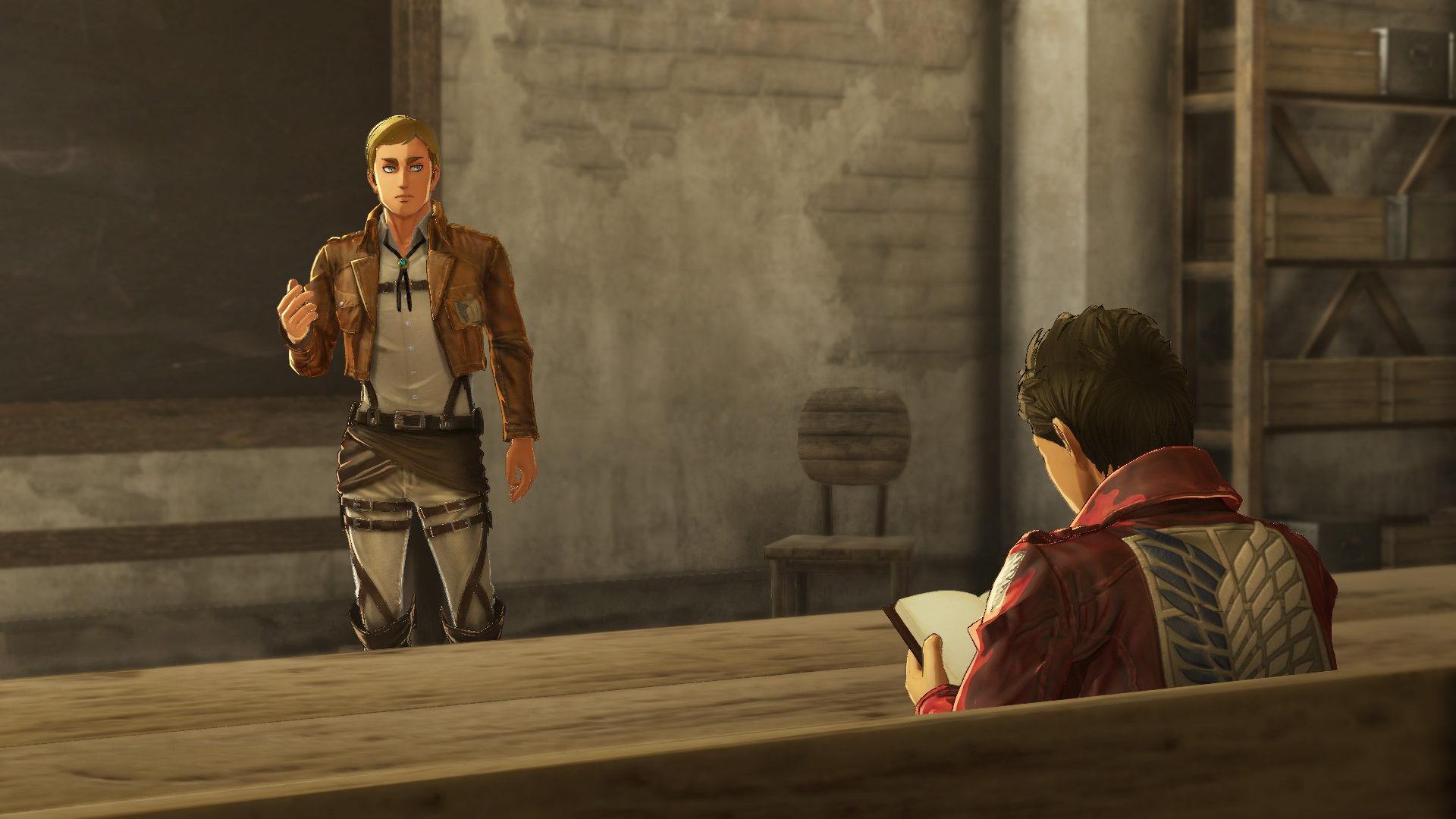 Custom All Stars >> Attack On Titan 2 Gets New Details On Character Creation And Town Life Features | Gaming Union