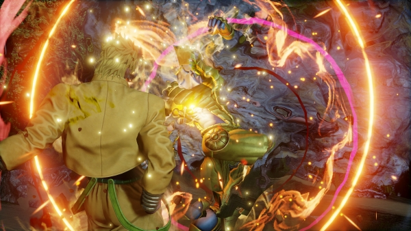 Jump Force Adds Jotaro And Dio From Jojo S Bizarre