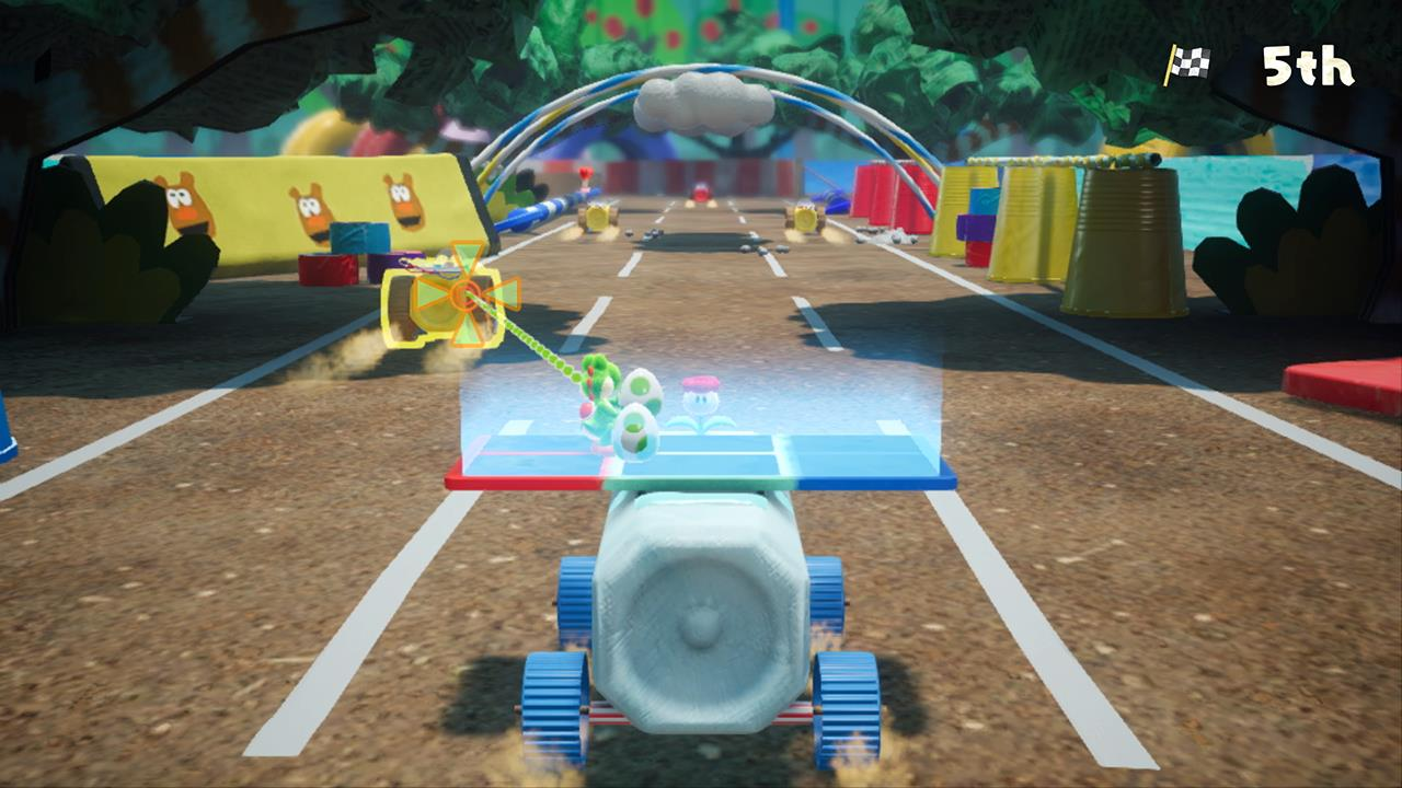 How To Flip Cars >> Yoshi's Crafted World Demo Now Available On Nintendo eShop ...