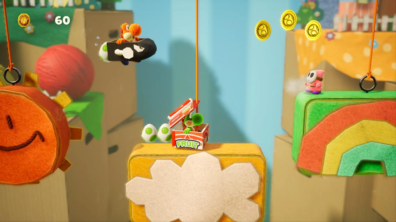 Yoshi S Crafted World Demo Now Available On Nintendo Eshop