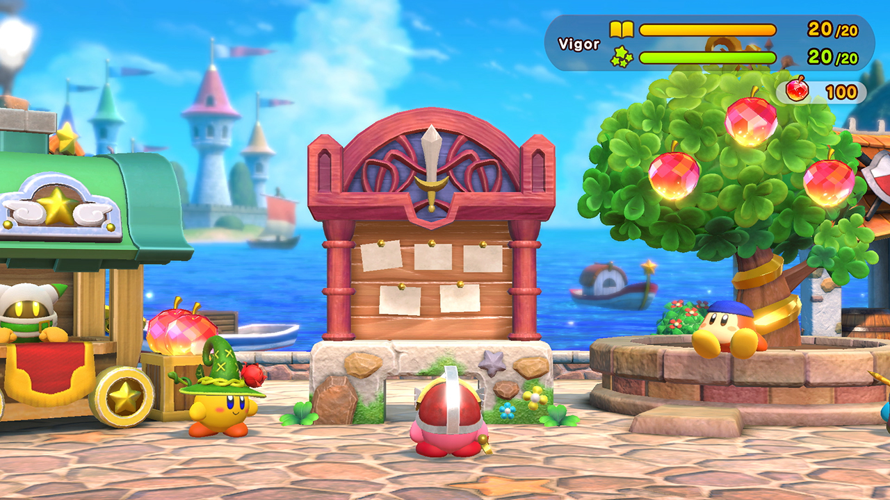 Super Kirby Clash Announced For Nintendo Switch | Gaming Union